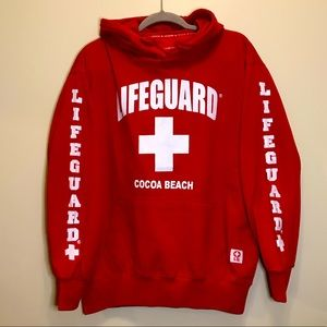 Lifeguard Cocoa Beach Hoodie